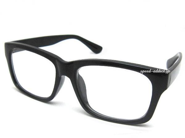 SQUARE WELLINGTON SUNGLASS BLACK × CLEAR