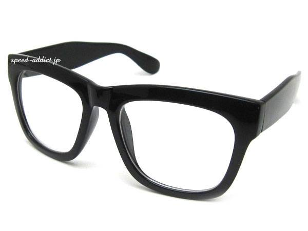 HARD CORE WELLINGTON SUNGLASS BLACK × CLEAR