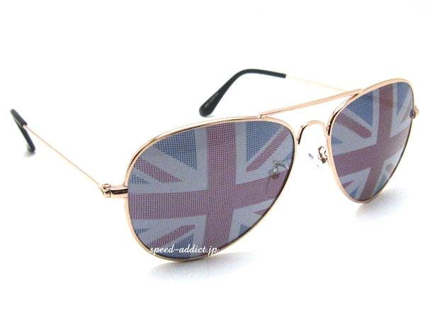 NATIONAL FLAG TEARDROP SUNGLASS Union Jack