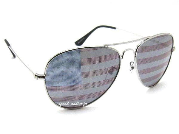 NATIONAL FLAG TEARDROP SUNGLASS Stars and Stripes