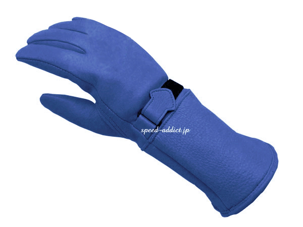 CHURCHILL GLOVE GAUNTLET CGTW ELECTRIC BLUE
