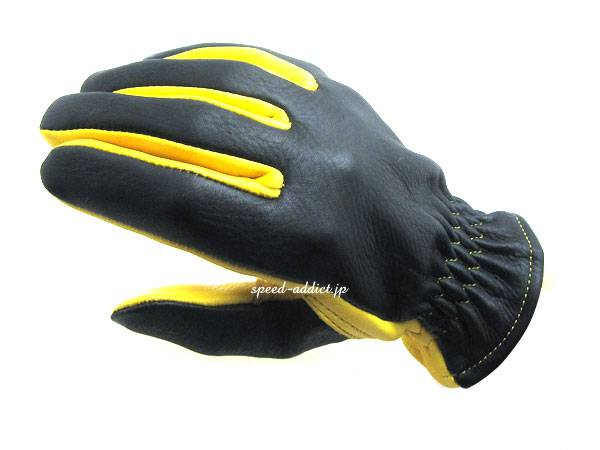 NAPA GLOVE 875BG BLACK × GOLD