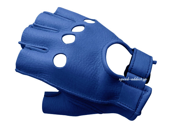 CHURCHILL GLOVE FINGERLESS OT ELECTRIC BLUE