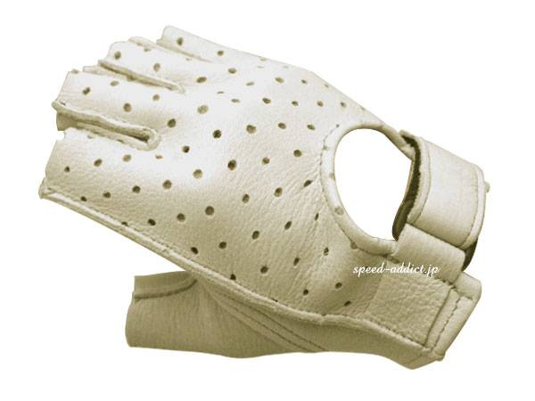 CHURCHILL GLOVE PUNCHING FINGERLESS OTA CREAM