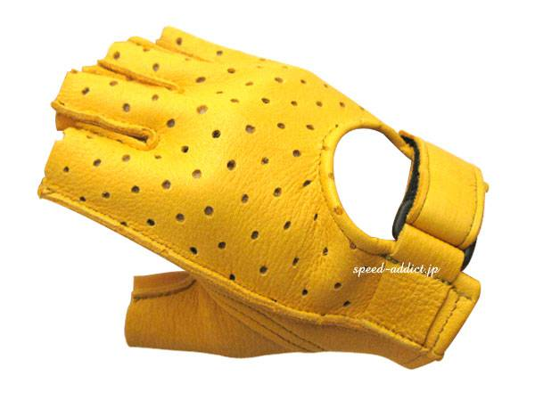 CHURCHILL GLOVE PUNCHING FINGERLESS OTA GOLD