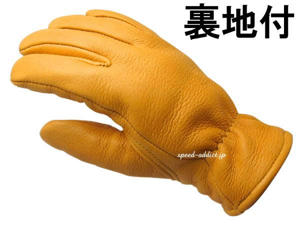CHURCHILL GLOVE 裏地付 TAN