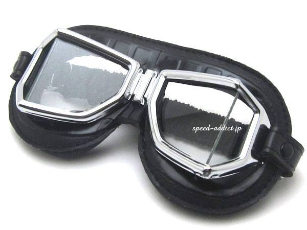 CLIMAX 513SNP 4眼 GOGGLE BLACK × CHROMEメッキ