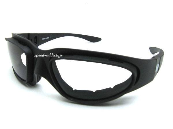 baruffaldi WIND TINI GOGGLE BLACK × CLEAR/SMOKE