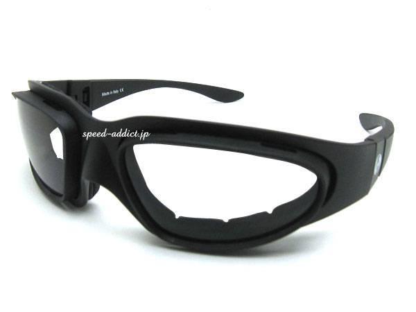 baruffaldi WIND TINI GOGGLE BLACK ×   CLEAR/SMOKE