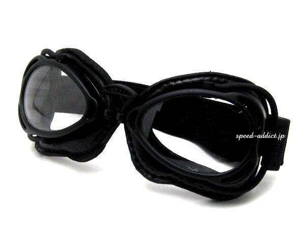 nannini Hot Rod GOGGLE BLACK/BLACK × ANTI   FOG CLEAR