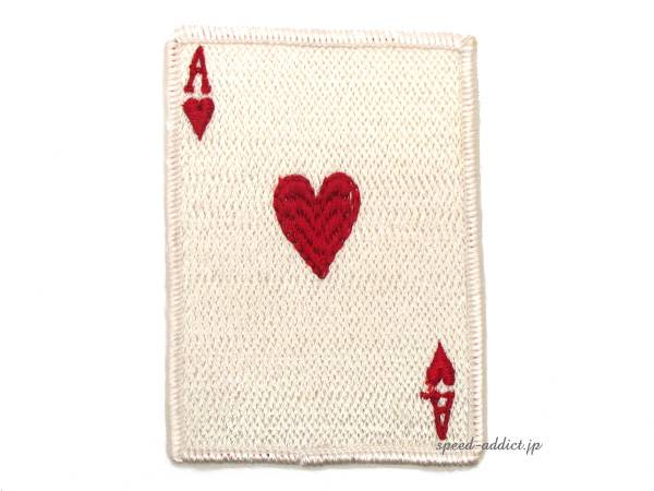 60's VINTAGE ACE OF HEARTS WAPPEN