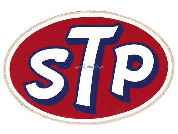 70's VINTAGE STP Sticker 135mm×200mm
