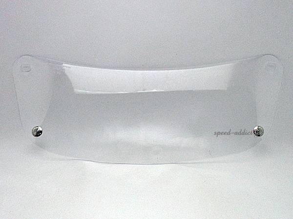 BOB HEATH VISORS SHOEI S-12 SHIELD   CLEAR