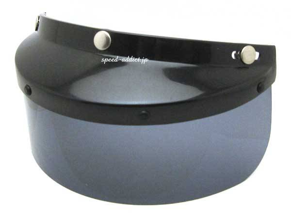 3INCH SHIELD VISOR SMOKE