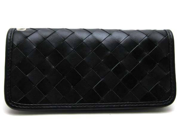 CHECKER LONG WALLET BLACK