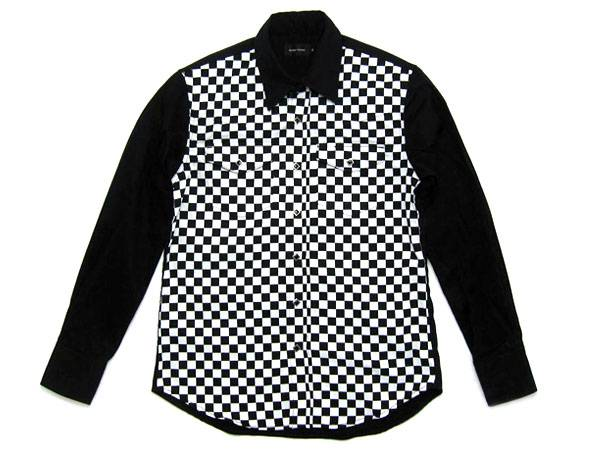 CHECKER WESTERN SHIRT 前身頃チェッカー