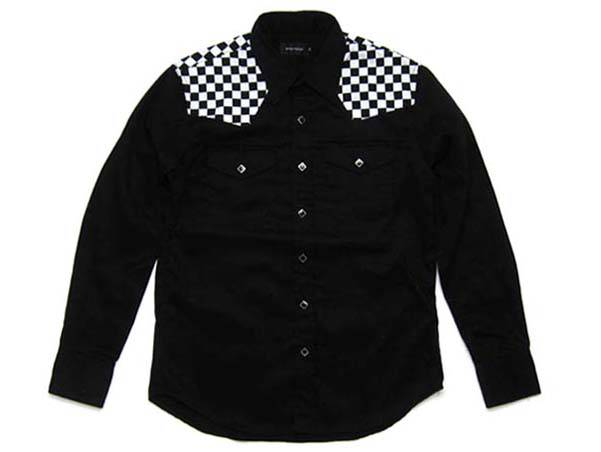 CHECKER WESTERN SHIRT ヨークチェッカー