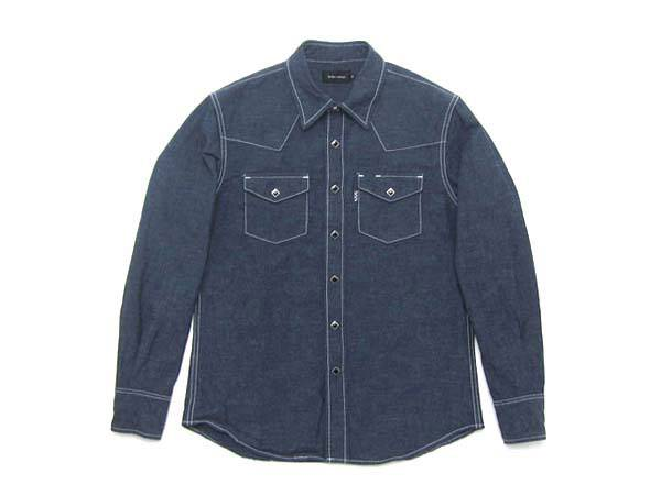 セルビッチ付 DENIM WESTERN SHIRT
