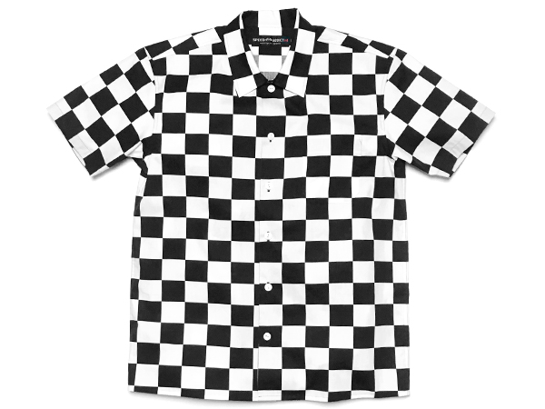 CHECKER SHIRT S/S