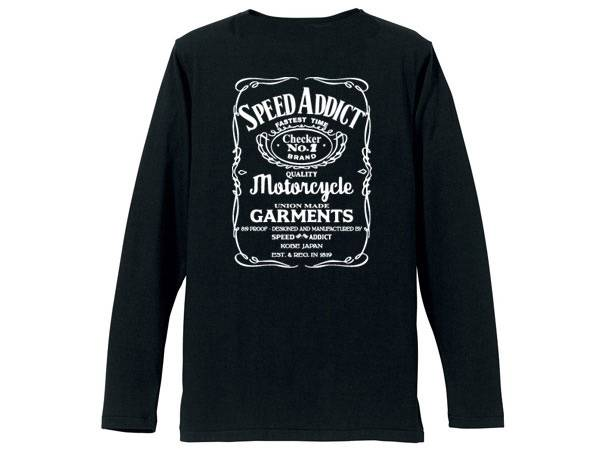 SPEED ADDICT JACK DANIEL'S POCKET L/S T-SHIRT