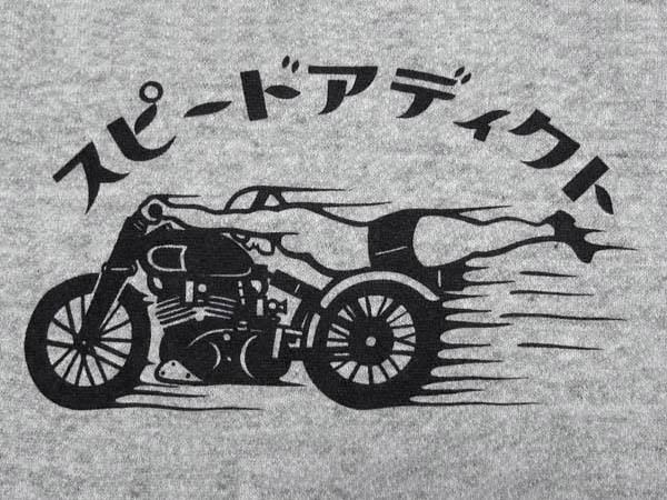スピードアディクト 2TONE PARKA GRAY × BLACK
