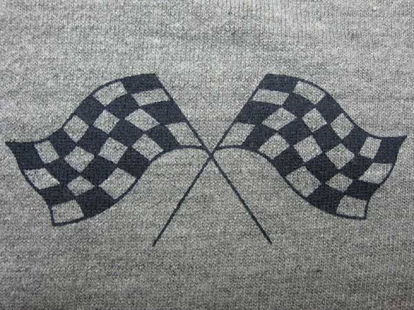 CHECKER FLAGS VINTAGE PARKA GRAY