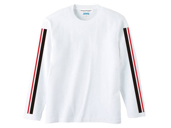 60's RACING STRIPE L/S T-shirt