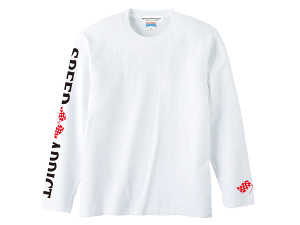 袖SPEED ADDICT L/S T-shirt