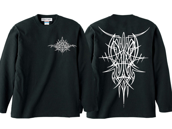 POTS DESIGN PINSTRIPE L/S T-shirt