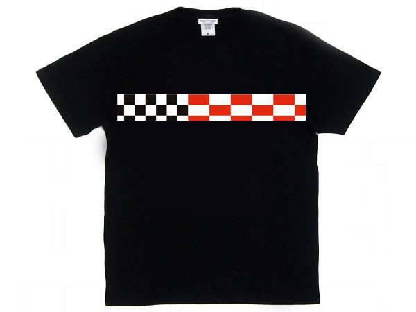 CHECKER & STRIPE T-SHIRT