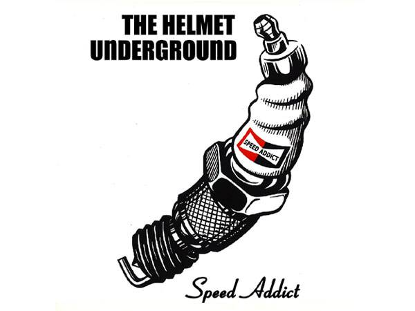 THE HELMET UNDERGROUND T-SHIRT WHITE