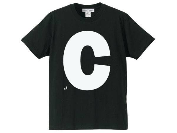 C(HOP)T-shirt BLACK