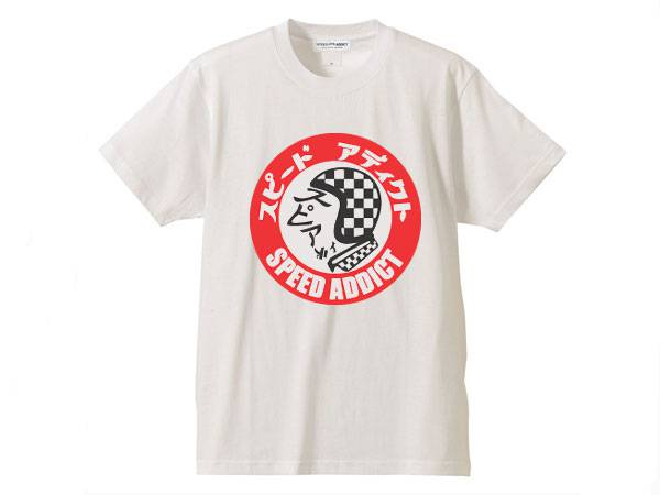 SPEED ADDICT TRADE MARK T-SHIRT