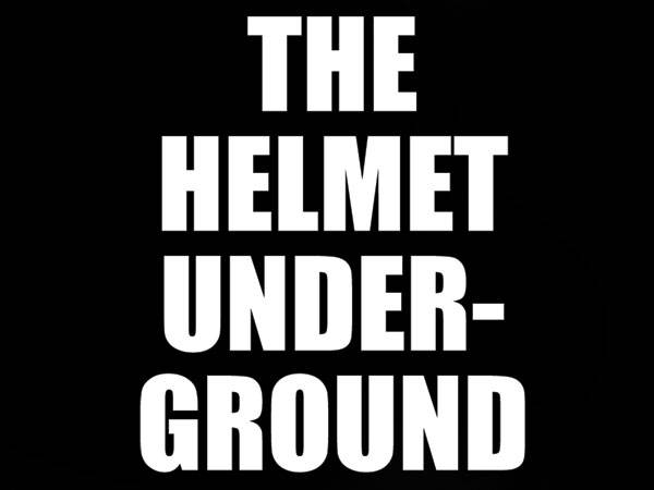 発泡プリント THE HELMET UNDERGROUND T-SHIRT