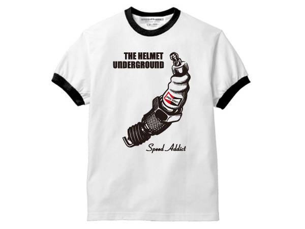 THE HELMET UNDERGROUND Ringer T-SHIRT