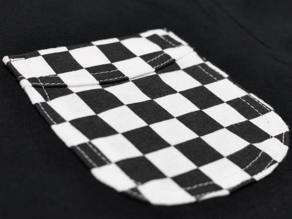 30's DESIGN CHECKER POCKET T-shirt