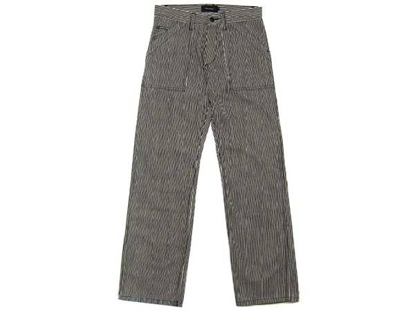 セルビッチ付 BLACK HICKORY PANTS