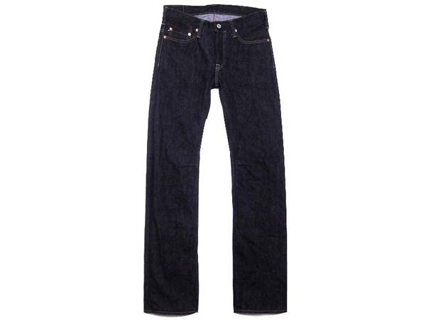 design vintage SLIM STRAIGHT JEANS