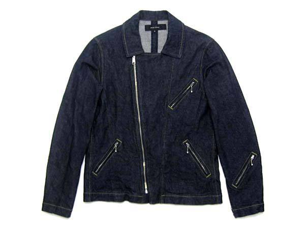 左綾 DENIM DOUBLE RIDERS JKT
