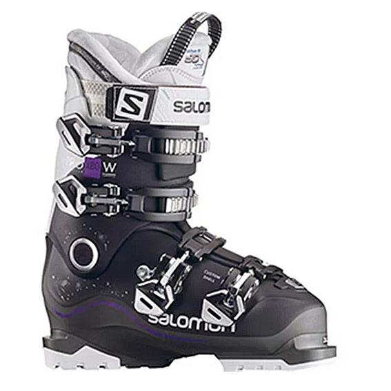 サロモン 17-18 レディース スキーブーツ L40052600 Black/Anthracite White X PRO X80 W