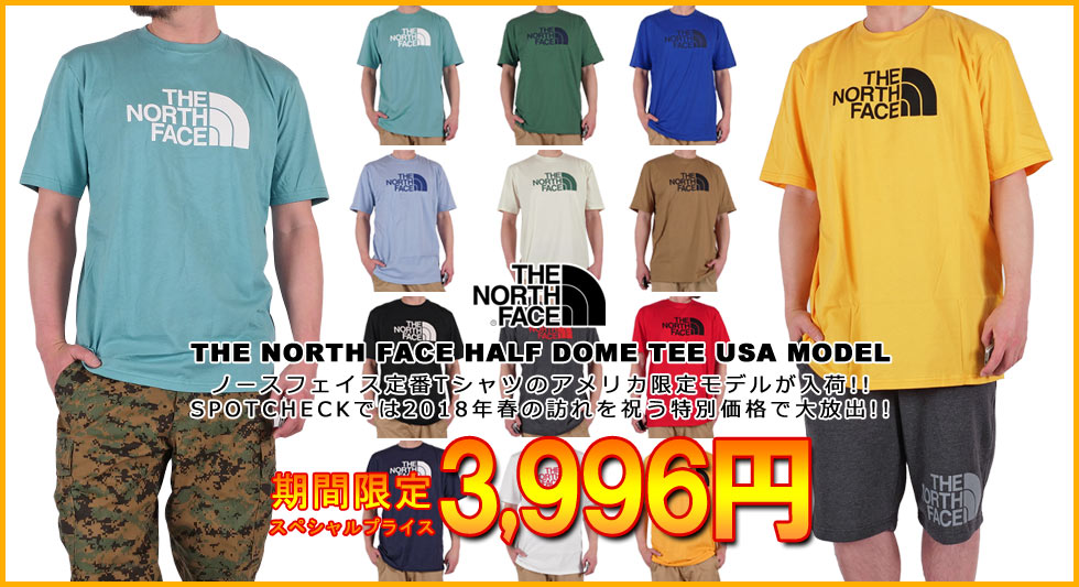 THE NORTH FACE USA TEE