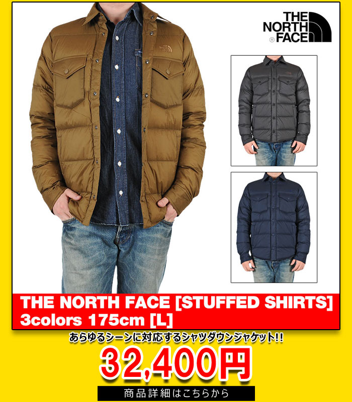 THE NORTH FACE SHIRT DOWN