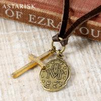 ASTRISK/コイン&クロス日本製ネックレス