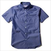 ASTRONOMY/日本製 COOLMAX ボタンダウン 半袖シャツ