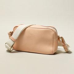 ButlerVernerSails/日本製レザースクエアショルダーバッグ