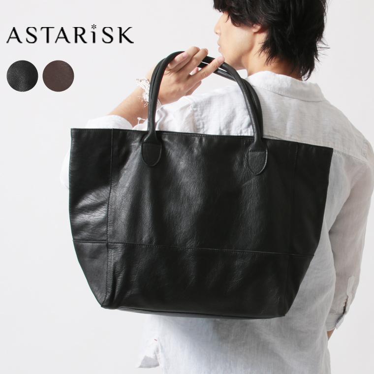 ASTARISK/ゴートレザートートバッグ