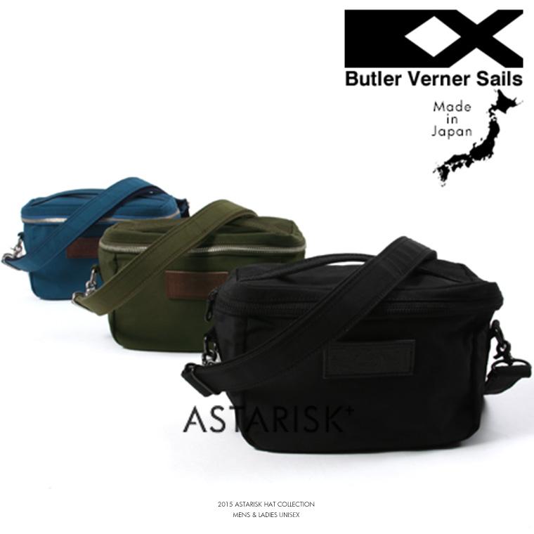 ButlerVernerSails/日本製ザックナイロンミニBOXショルダー