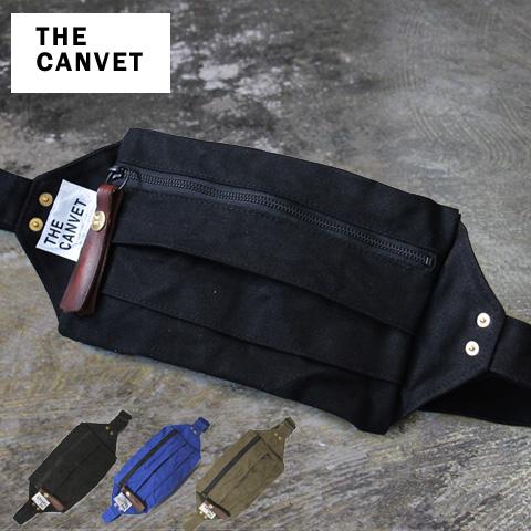 THE CANVET/日本製キャンバスワンショルダーボディバッグ