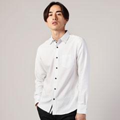 Buyer's Select/機能性素材サーモライトオックスフォードシャツ
