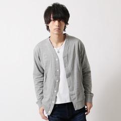 SLICK/ミラノジャージ V カーディガン